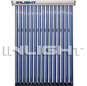 flat roof vacuum tube heat pipe solar collector
