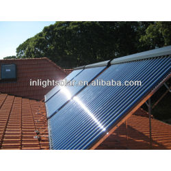 0.6MPa-0.8MPa Pressure Anti-freeze Solar Collector Approved