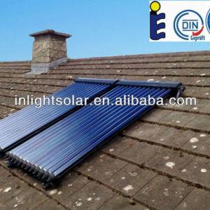 12 Heat Pipes Solar Hot Water Panels with Solar Keymark SRCC