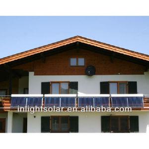 30 Pips Balcony Fixed Heat Pipe Solar Collector Solar Panels