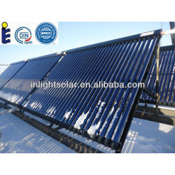 Solar Keymark Approved Super Quality Glass Vacuum Tube Heat Pipe Solar Energy Collectors( for extreme cold climate area)