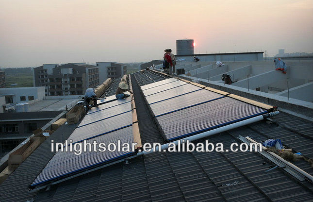 25 Heat Pipes Sloping Roof Mounting Solar Panels Approved by SRCC,TUV