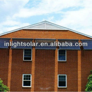 25 tubes solar heat pipe collector