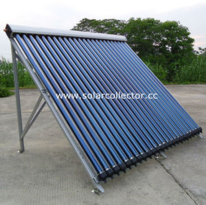 25 Tubes Pressurized Heat Pipe Solar Collector