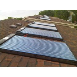 Wall Mounted Pressurized Solar Collector