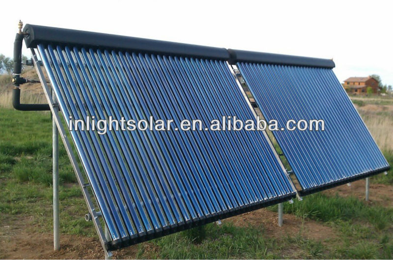 Black Aluminum Alloy Thermal Solar Panel( Vacuum Tube Series)