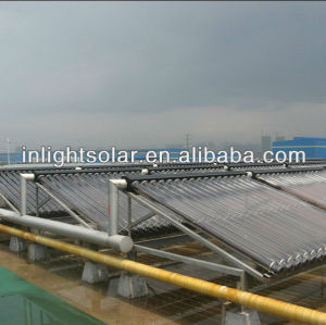 Metal Sealed Copper Vacuum Tube Solar Energy Collector