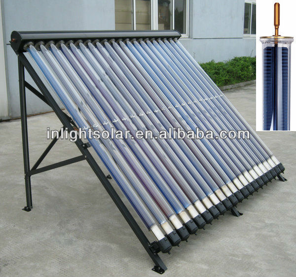 Germany Titanium Coating Evacuated Tube Solar Collector