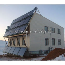 House Heating Solar Energy Collectors