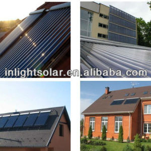 Evacuated Tube Heat Pipe Solar Heating Panels