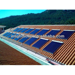 Heat Pipe Pressurized Solar Collector 20 pipes