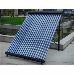 Flat roof pressure heat-pipe Solar Collector