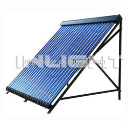 Keymark certified evacuated tube heat pipe solar collector