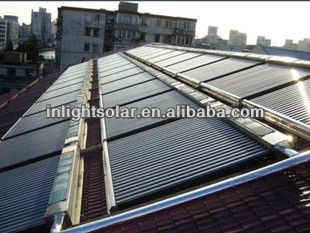 Stainless Steel Evacuated Tube Solar Collectors Unpressurized Collector