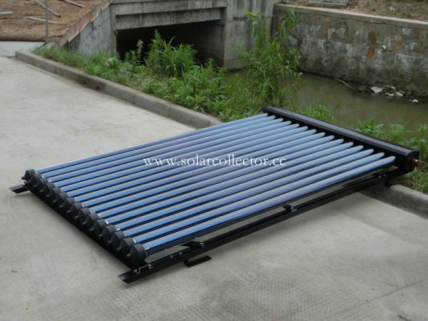 SRCC,Solar Keymark Approved copper heat pipe solar collectors