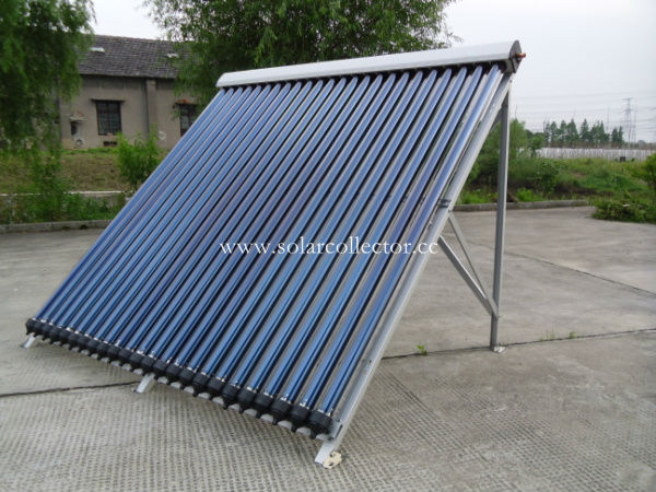 Keymark certified copper manifold solar collector