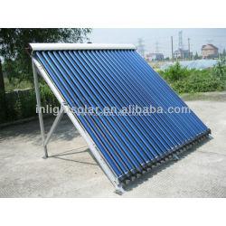 Keymark certified copper aluminum solar collector
