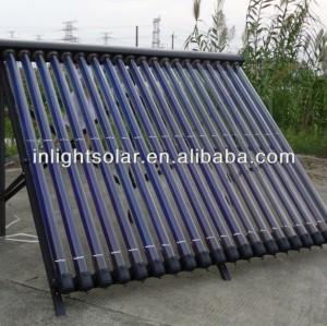 Germany Titanium Coating Vacuum Tube Solar Collectors Manufacturer