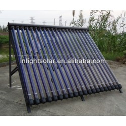 Germany Titanium Coating Vacuum Tube Solar Collectors Manufacturer
