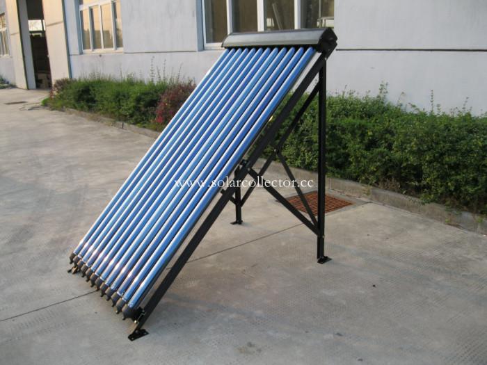 Keymark certified Copper heat pipe Collector