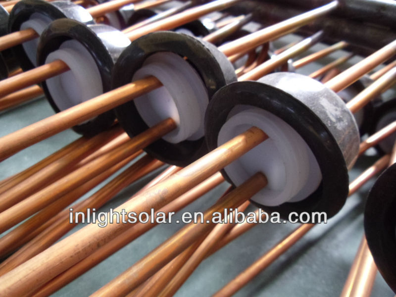 Plate roof U Pipe Solar Collector