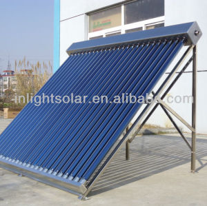 25 tubes all glass tube solar collector
