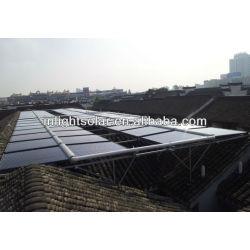 Solar Vacuum Tube Manifold Collectors