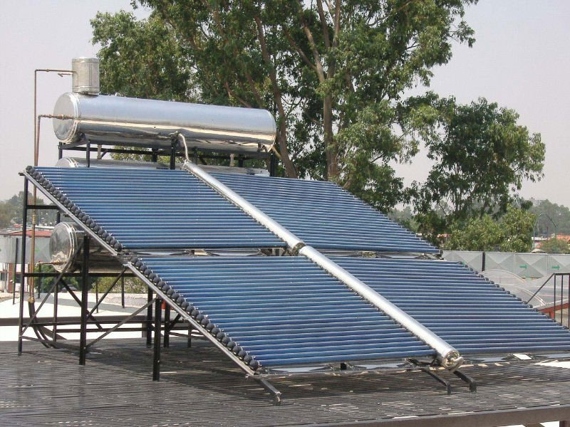 Low Pressure All-Glass Tube Solar Collector (butterfly type