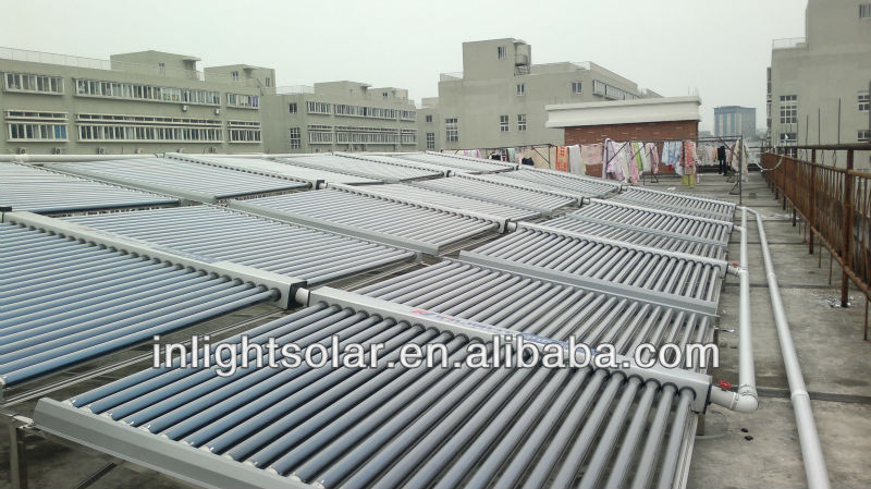 Glass Vacuum Solar Collector Project