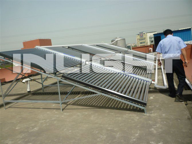 Butterfly type All Glass Tube Solar Collector