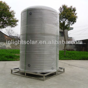 Large solar water tank for solar hot water project
