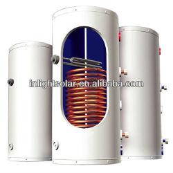 Galvanized Pressure Solar Water Tank with Copper Coil