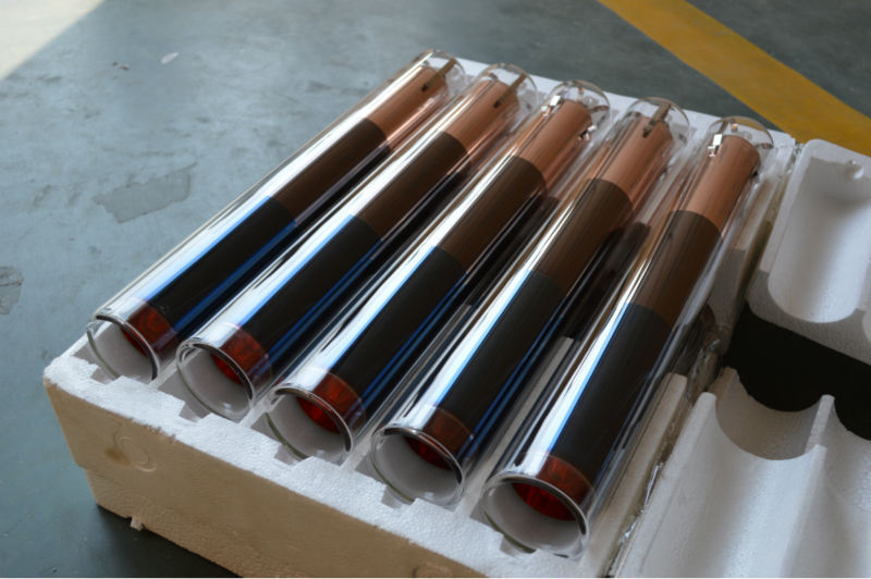 heat pipe vaccum tube for solar collector