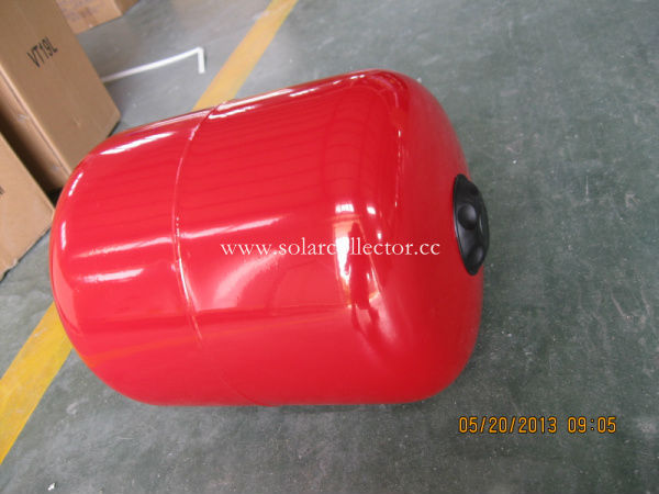 Expansion tank for split solar water heater