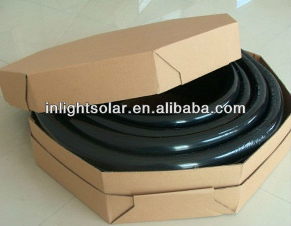 Isolated Corrugated Pipe for Solar System