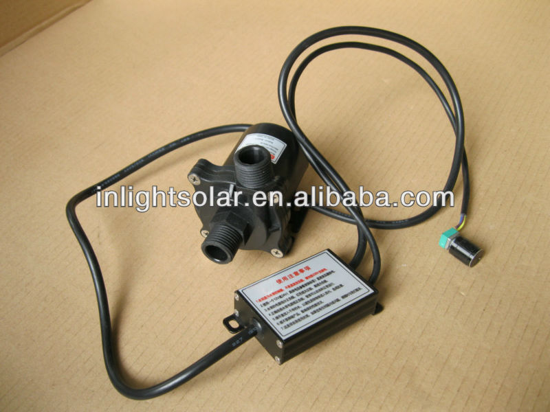24V DC Water Pump with Brushless Motor (Micro Solar Pump)