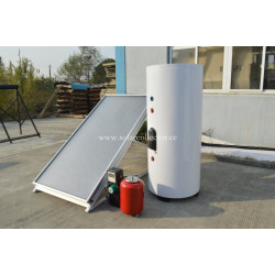 Split Flat Plate Solar Water Heating