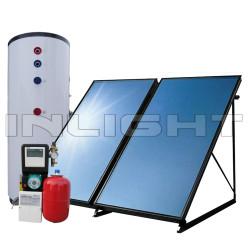Flat Panel Solar Water Heaters