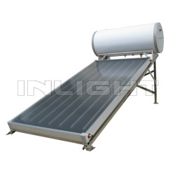 Integrated Pressure Flat Panel Solar Energy Water Heater