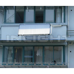 Pressure Flat Plate Solar Themal Collector for Balcony
