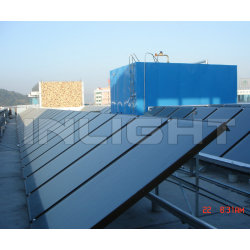 2000x1000*80mm Flat  Solar Hot Water Panel