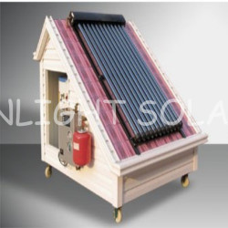 European Standard Anti-freeze Solar Hot Water Heating System