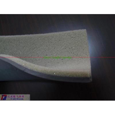 Fuzzy compound sponge mat/indoor kids soft play mats/eco-friendly kids play mat