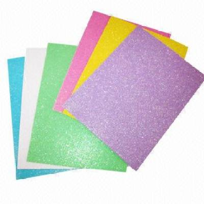 Glittery eva foam/brushed eva foam sheet/odorlessness eco-friendly Color EVA foam