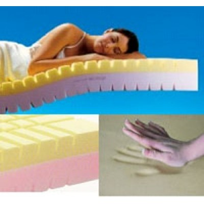 Natural PU foam mattress/bed foam sponge mattress/memory foam mattress