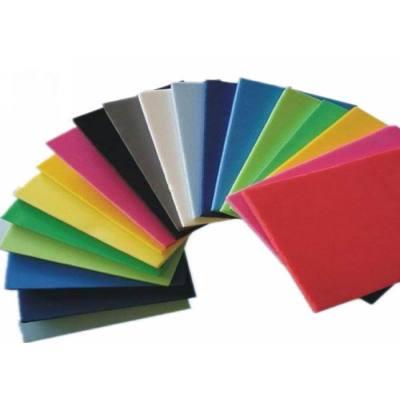 Thick eva packaging foam/eva foam sponge /odorlessness eco-friendly Color EVA foam sheet