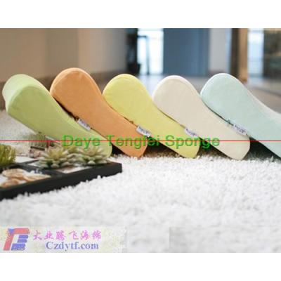 sponge health care pillow/foam sponge memory pillow/memory foam curved neck pillow/memory foam neck pillow