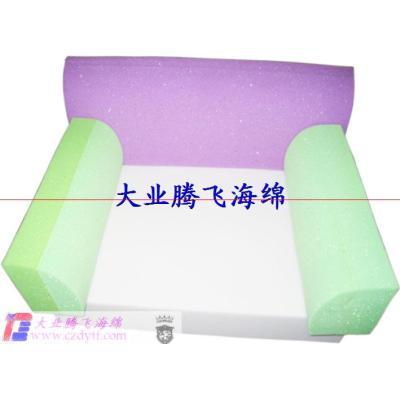 Foam rubber sofa/kids plastic sofa/foam sofa/foam kids sofa/folding foam sofa