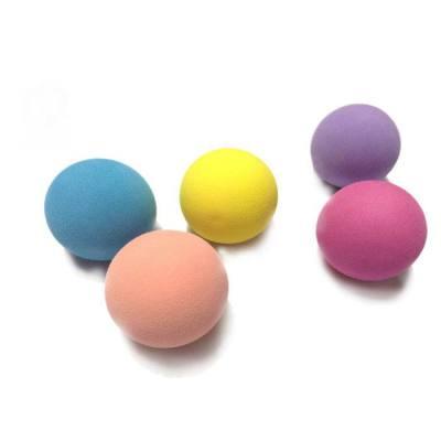 High elasticity coloful eva ball/concrete sponge ball/soft rubber ball/small rubber balls