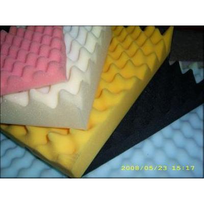 sound isolation foam/sound proof foam/sound absorption foam/self adhesive sound insulation foam